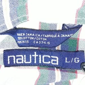 Nautica Shirts - Nautica Cotton Twill Button Down Shirt Long Sleeve